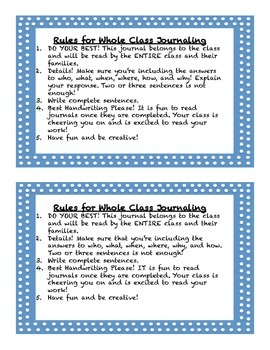Whole Class JOurnal Covers-JANUARY PACK