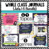 Whole Class Journal Bundle (Sets 1-5): Writing Across Genres