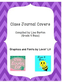 Whole Class Journal Covers