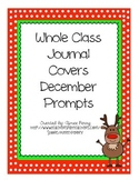 Whole Class Journal Covers-DECEMBER PACK