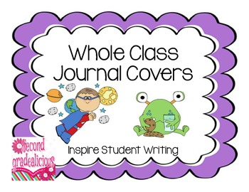 Whole Class Journal Covers Landscape View