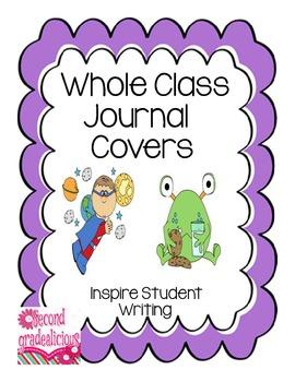Whole Class Journal Covers Portrait View