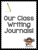Whole Class Journal Prompts - Journal Covers