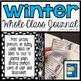 Whole Class Journal (Winter Themed)