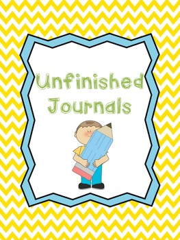 Fast Finishers-Whole Class Journals
