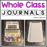 Whole Class Journals
