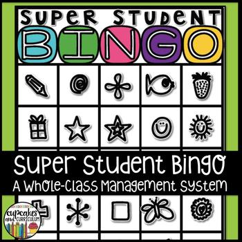 Whole-Class Management System: Super Student Bingo #tptclassroomcommunity