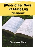 Whole Class Novel Reading Log with Stamp