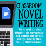 Whole Class, Semester/Year-Long Novel Writing! Made with Google!