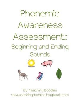 Whole Class Phonemic Awareness Assessment