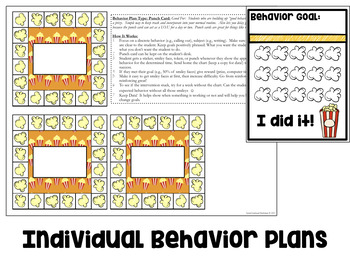 Positive Behavior Management System for Whole Class, Small Group, Individuals