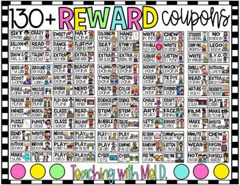 Whole Class Reward Coupons