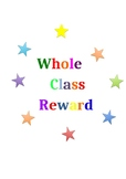 Whole Class Reward Print Out for Jars, Boxes, Displays