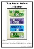 Whole Class Reward - Scrabble Tile Style