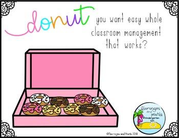 Whole Class Reward System: Donuts