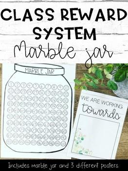 Marble Jar Rewards Worksheets Teaching Resources Tpt