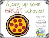 Whole Class Reward System: Pizza