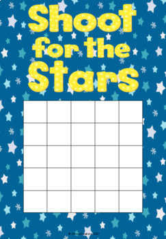 Shoot for the Stars Rewards Charts- Whole Class and Individual