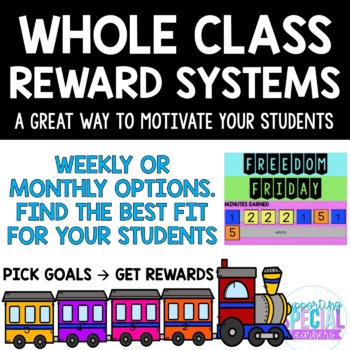 Whole Class Reward Systems - Growing Bundle
