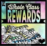 Whole Class Rewards - 95 Reward Coupons to Reward a Class