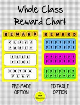 Whole Class Rewards Chart