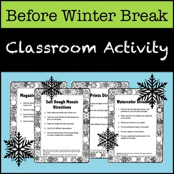 Whole Class Winter Activities