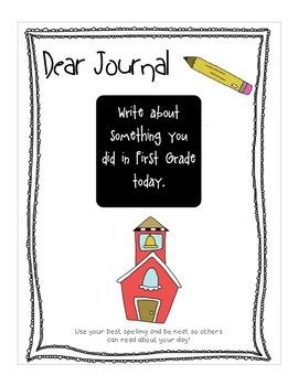 Whole Class Writing Journal