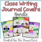 Whole Class Writing Journal Covers BUNDLE