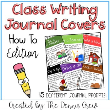 Whole Class Writing Journal Covers (How To)