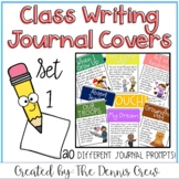 Whole Class Writing Journal Covers Set 1