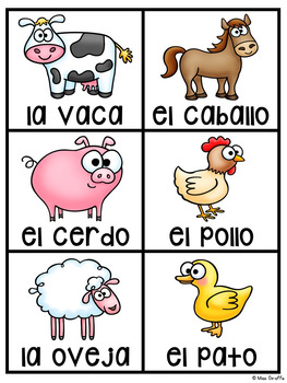 Whole Group Bar Graphing Questions in Spanish (Gráfica de Barras)