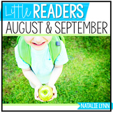 Whole Group Literacy for August/September