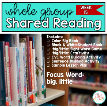 Whole Group Shared Reading Week 15