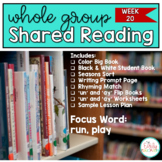 Shared Reading: Week 20