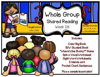 Whole Group Shared Reading Week 28
