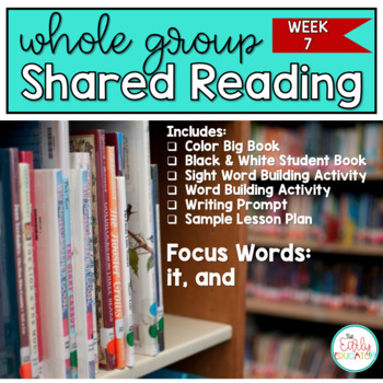 Whole Group Shared Reading Week 7