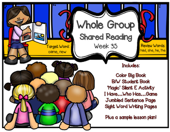 Whole Group Shared Reading Week 35
