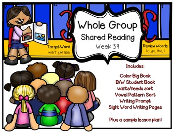 Whole Group Shared Reading Week 39