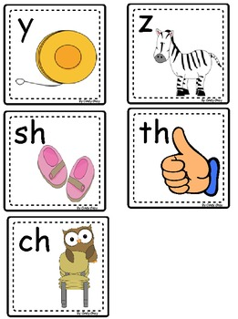 Whole Group Size Alphabet Sound Card