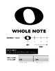 Whole Note/Whole Rest