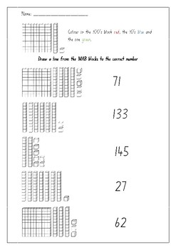 Whole Number Assessment