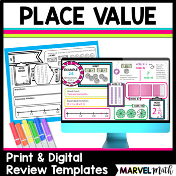 Whole Number & Decimal Place Value Review