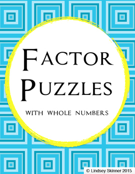 Whole Number Factor Puzzles