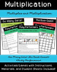 Arrays, Factors, Multiples & Multiplication Activities/Gam