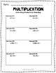 Estimating Products, Guided Notes and Exit Quiz, Complete Lesson Packet, 5.NBT.5