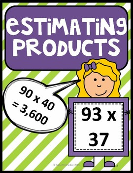 Estimating Products, Guided Notes and Exit Quiz, Complete