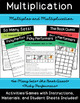 Whole Number Multiplication and Division Resource Forever Bundle (Grades 4-6)