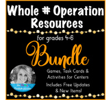 Whole Number Multiplication and Division Resource Forever