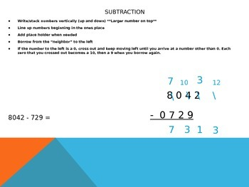 Whole Number Operations Review Power Point