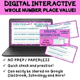 Whole Number Place Value Digital Practice